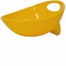 Wetnoz 23564 3-Cup Studio Scoop Dog Dish, Medium, Sun