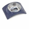 Wetnoz 23883 Arc Bowl for Pets, Small, Indigo