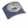 Wetnoz 23889 Arc Bowl for Pets, Medium, Indigo