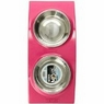 Wetnoz 23900 Arc Diner for Pets, Medium, Hibiscus