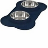Wetnoz 23913 Flexi Bowl for Pets, Indigo