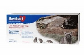 Havahart Professional Style Raccoon Trap Gravity 1 Spring Loaded Door 32x10x12