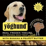 Yoghund Natural Yoghund Papaya And Peanut Butter, 1 Pack Of 4-3.5Oz Case
