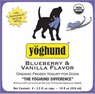 Yoghund Organic Yoghund Blueberry And Vanilla Bean, 1 Pack Of 4-3.5Oz Case