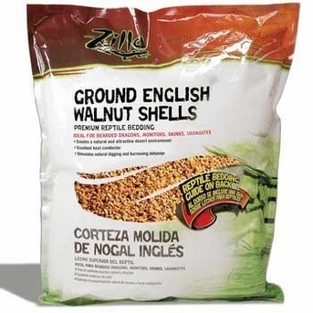 Zilla Ground English Walnut Shells 50qt