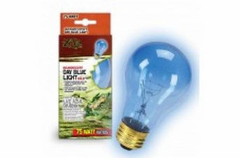 Zilla Incandescent Day Blue Light Bulb 75W