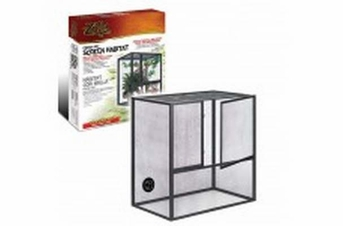 Zilla Fresh Air Screen Habitat 18X12X20