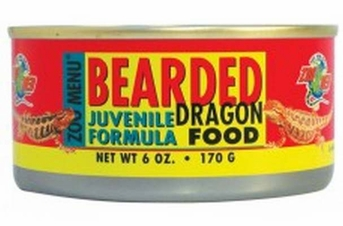 Zoo Med Bearded Dragon Juvenile Formula Food can wet 6oz