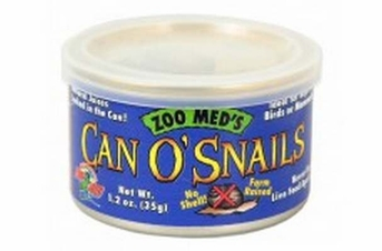 Zoo Med Can O' Snails 1.2oz