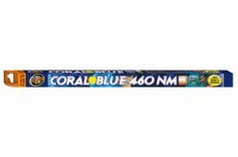 Zoo Med Coral Blue 460 NM T8 Lamp 18in