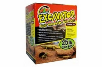 Zoo Med Excavator Clay Burrowing Substrate 25lb