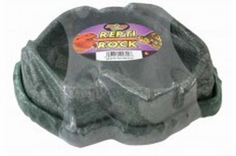 Zoo Med Combo Repti Rock Food   Water Dish Large