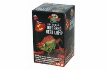Zoo Med Nocturnal Infrared Heat Lamp 50W