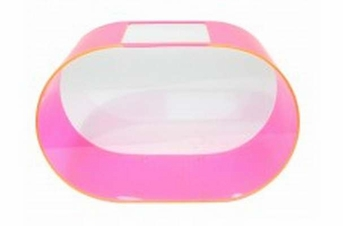 Zoo Med Betta House Oval Hot Pink 2gal