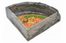 Zoo Med Repti Rock Corner Water Dish Large