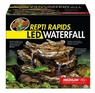 Zoo Med ReptiRapids LED Waterfall Rock Medium