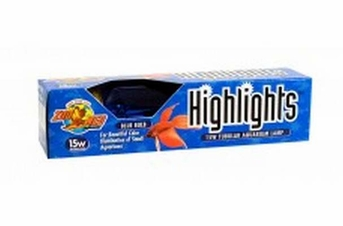 Zoo Med Highlights Incandescent Bulb Blue 15W