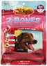 Zuke's Z-Bones Edible Grain-Free Dental Chews, Clean Berry Crisp, Giant 3.88-Ounce, 4 Count