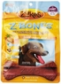Zuke's Z-Bones Edible Grain-Free Dental Chews, Clean Carrot Crisp, Giant 3.88-Ounce, 4 Count