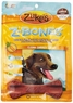 Zuke's Z-Bones Large Grain Free Edible 6 Count Dental Chews, 2.5-Ounce ea, Clean Carrot Crisp
