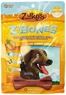 Zuke's Z-Bones Regular Grain Free Edible 8 Count Dental Chews, 1.5 Ounce ea, Clean Carrot Crisp