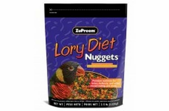 ZuPreem Lory Diet Nuggets 2.5lb