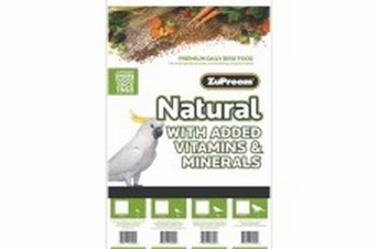 ZuPreem Natural Cockatiels 20lb