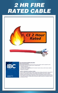 2 Hour Fire Rated Cable