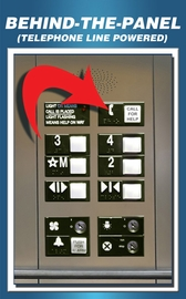 Behind-the-Panel Phones<br> (Telephone Line Powered)