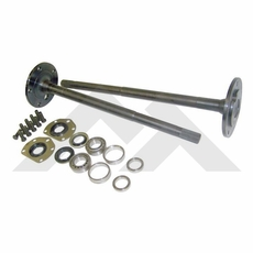(1) One Piece Axle Shaft Kit For 76-83 Jeep CJ-5 & 76-81 CJ-7 with Model 20 Rear Axle