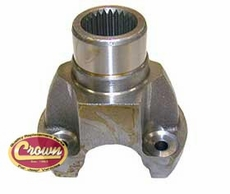 10) Front Output Yoke, 1997-05 Jeep Wrangler TJ with NP231 Transfer Case