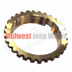 12) Transmission Synchronizer Brass Blocking Ring Fits 1946-71 Jeep & Willys with T-90 Transmission ( 2 needed )