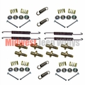 "Brake Hardware Kit for 1953-1966 Willys Jeep CJ3B, CJ5, CJ6, M38A1 with 9"" Brakes"