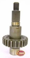13) Front Output Shaft, 1987-2002 Jeep Vehicles with NP231 Transfer Case (except Liberty KJ)