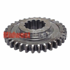 13) Sliding Gear, Output Shaft, 33 x 12 Teeth, fits 1953-66 Jeep & Willys with Dana Spicer 18 Transfer Case