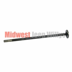 14) Left Side Axle Shaft, Drivers Side, Dana Model 23-2 Axle, 1941-1945 Willys MB, Ford GPW