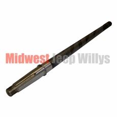 14) Rear Axle Shaft for Drivers Side, Left Hand, 19 Spline, Dana 44 with Tapered Axles, 1956-1969 CJ Models