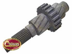 15)�Front Output Shaft for Jeep CJ Series with Dana 300 Transfer Case
