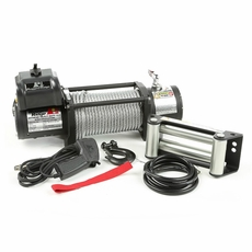 Spartacus Heavy Duty Winch with Steel Cable, 12500 lbs