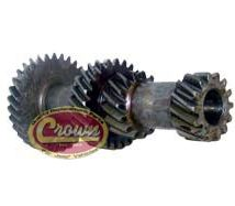 16) Cluster Gear, with 31-25-15-14 Teeth, for V6 225 Engine, fits 1967-75 Jeep CJ with T14A 3 Speed Transmission
