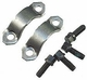 17) Strap & Bolt Kit, U-joint- HEX HEAD 1993-1998