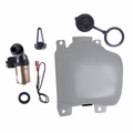 Washer Bottle Kit with Pump & Filter, fits 1972-86 Jeep CJ5, CJ7 & CJ8