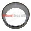 18) Axle Shaft Bearing Cup, Dana Model 23-2 Axle, 1941-1945 Willys MB, Ford GPW