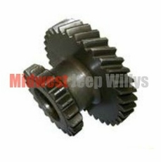 """18) Intermediate Gear for 1-1/8"""" Shaft, 34 x 12 Teeth, fits 1946-53 Jeep & Willys with Dana Spicer 18 Transfer Case"""