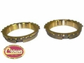 18) Synchronizer Ring Set, 1980-81 Jeep CJ with SR4 4 Speed Transmission