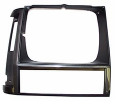 1984-90 XJ HEADLIGHT BEZEL, GRAY, RIGHT