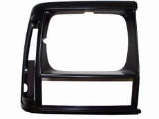 1993-96 XJ HEADLIGHT BEZEL, BLACK, RIGHT
