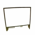 2) Right Side Door Window Frame & Glass Assembly for all 2.5 and 5 Ton Series, 7529305