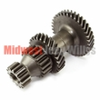2) Transmission Countershaft Cluster Gear Fits 1966-71 Jeep & Willys with T-90 Transmission ( Teeth 35-26-19-14 )