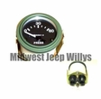 M-Series 24 Volt Oil Pressure Gauge, 0-60 PSI, with Packard Rubber Connectors, MS24541-2